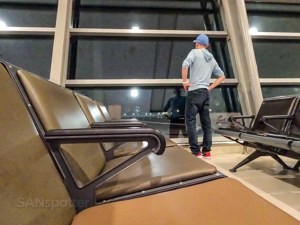SANspotter selfie PEN airport