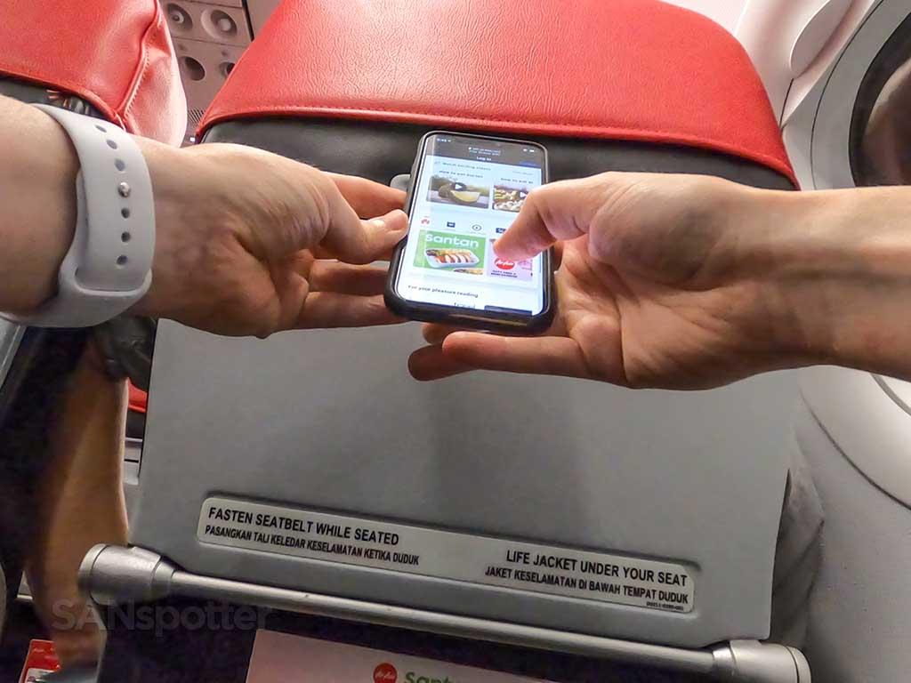 AirAsia Wi-Fi streaming entertainment
