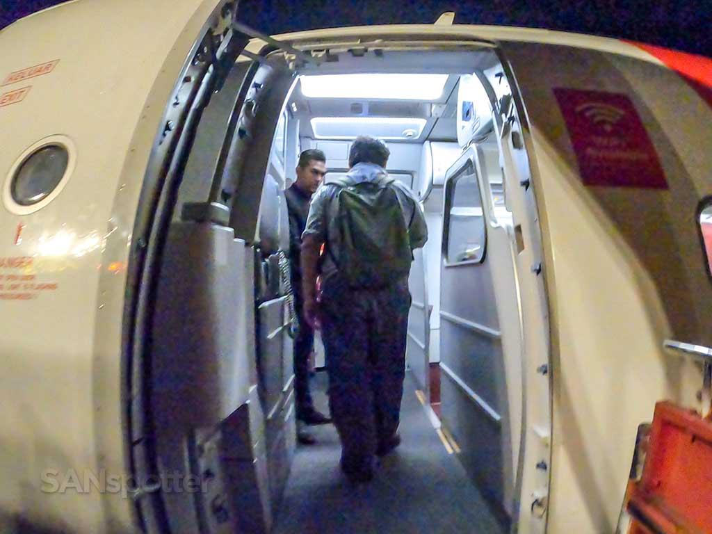 AirAsia A320 boarding door