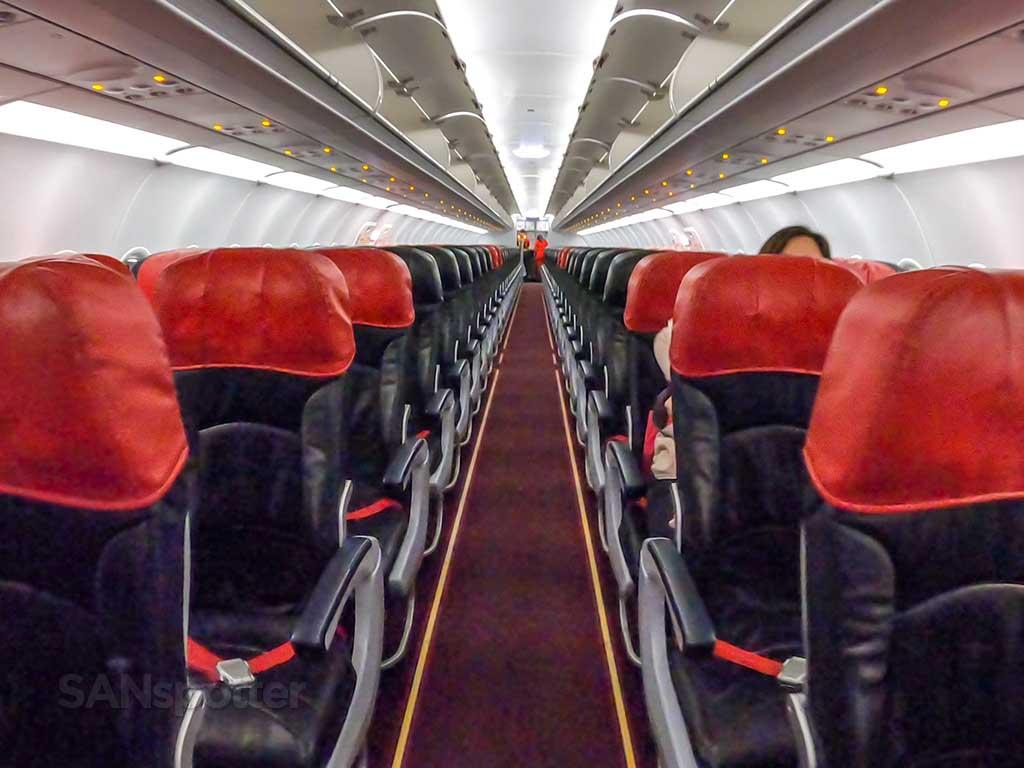 AirAsia A320 cabin