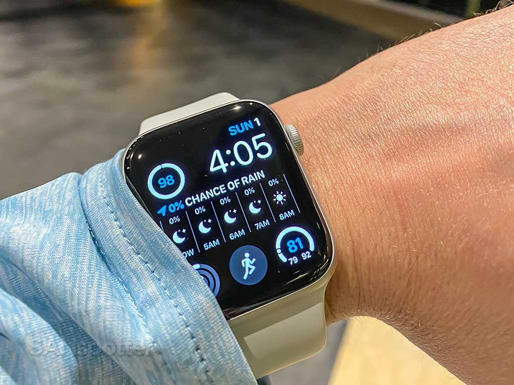 sanspotter Apple Watch S5