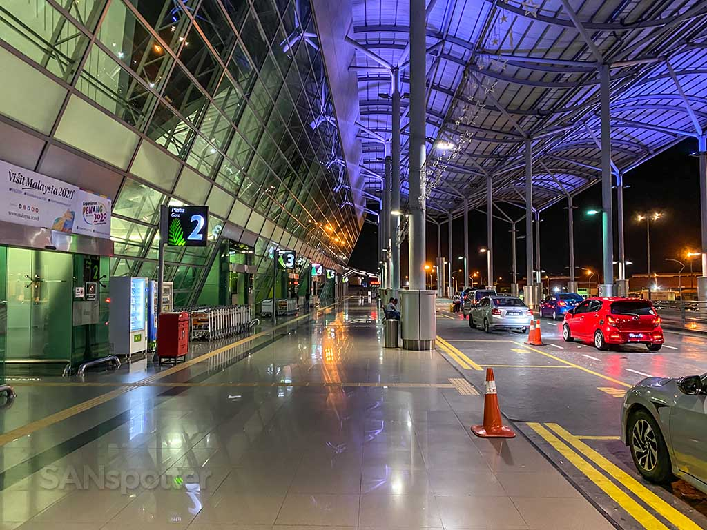 Penang airport departures entrance