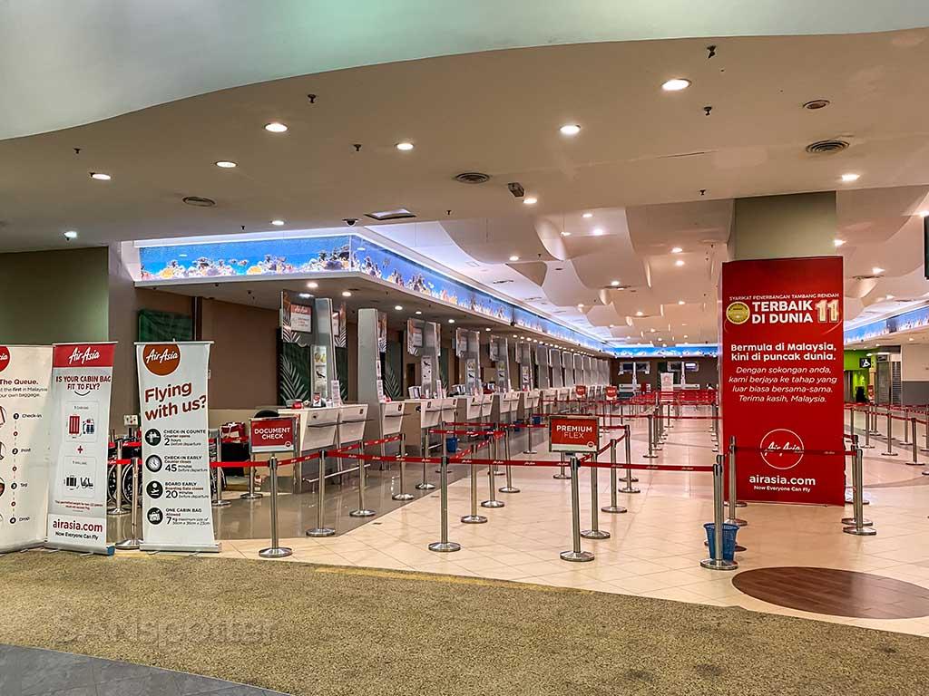 AirAsia ticket counter Penang airport