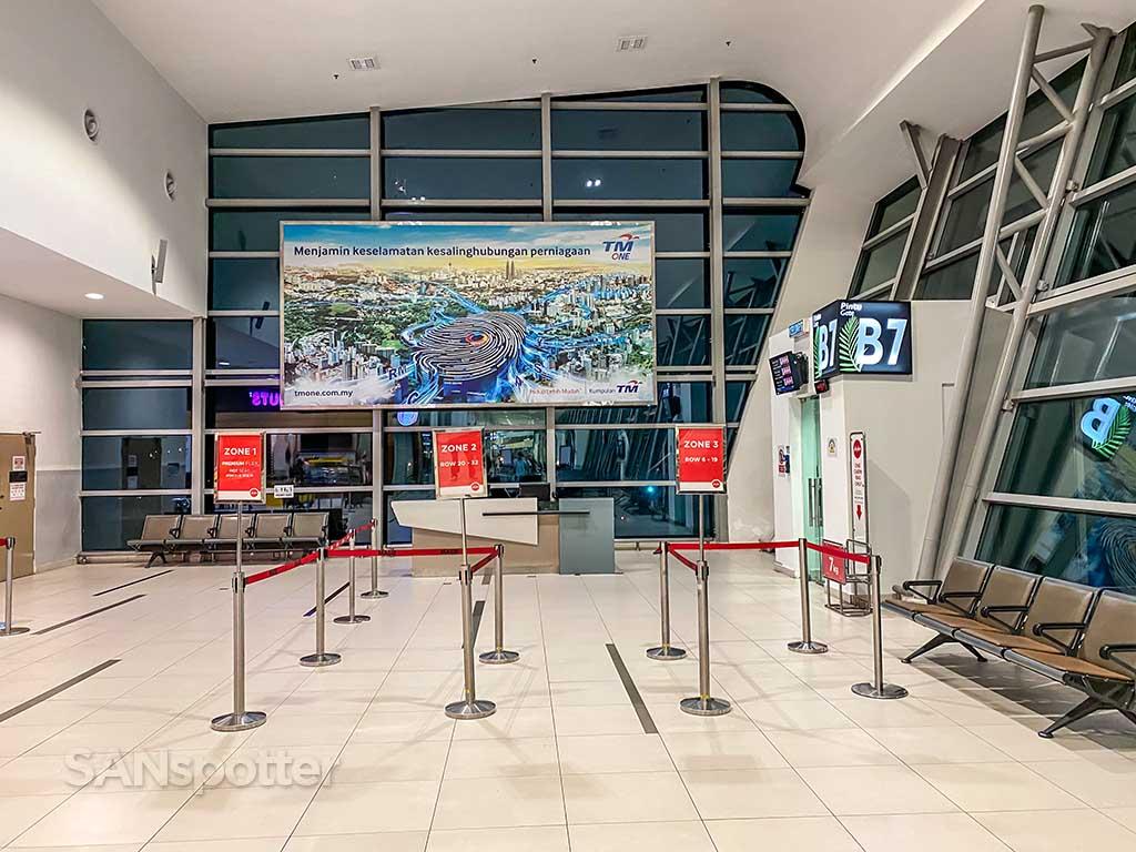 gate B7 Penang airport