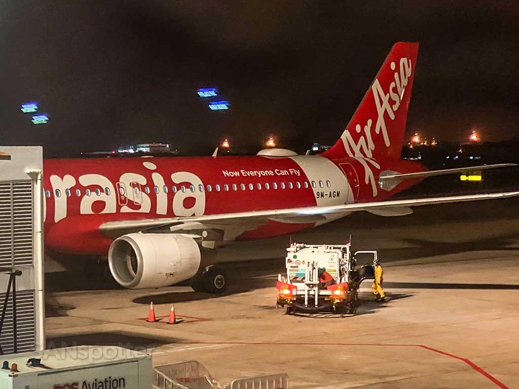 AirAsia A320 Penang airport