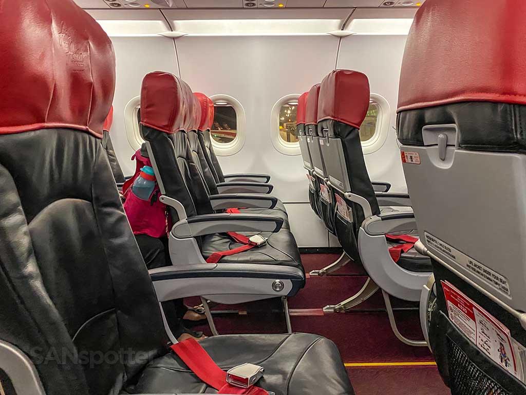 AirAsia seat design