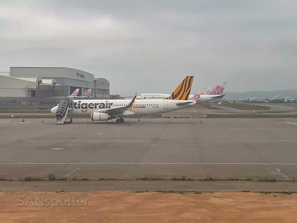 TPE airport tarmac