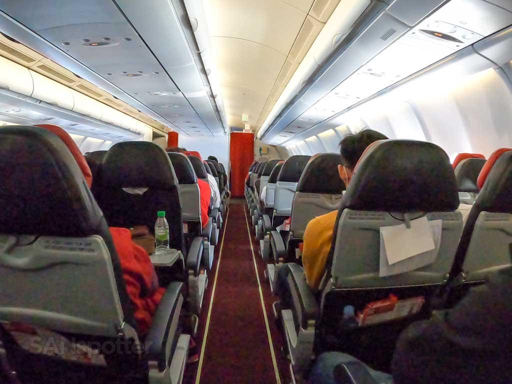 AirAsia X A330-300 main cabin