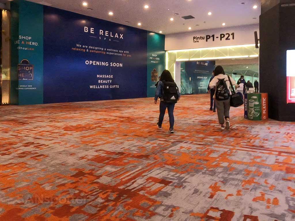 Kuala Lumpur airport terminal interior