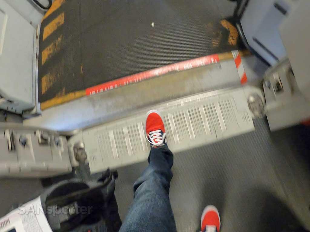 AirAsia X A330 boarding door
