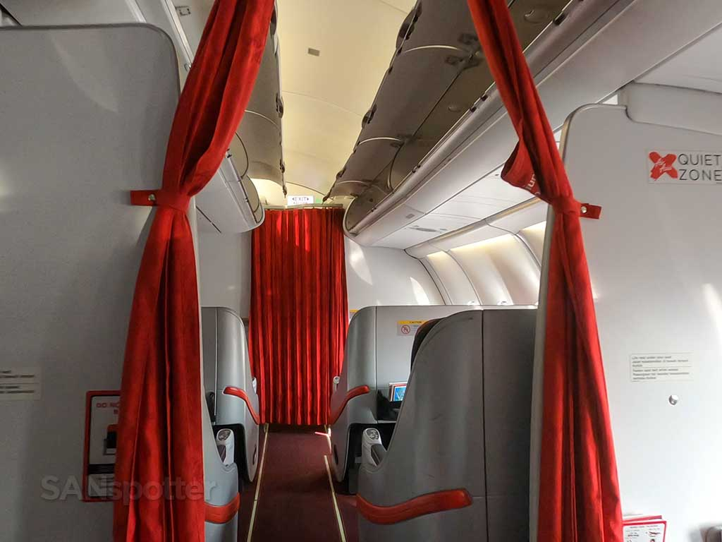 AirAsia X premium cabin