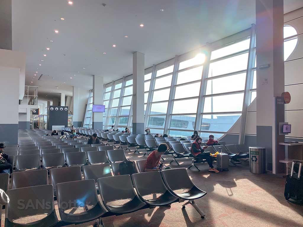 theater style seating Kuala Lumpur airport