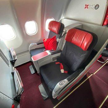 AirAsia X Premium Flatbed seats