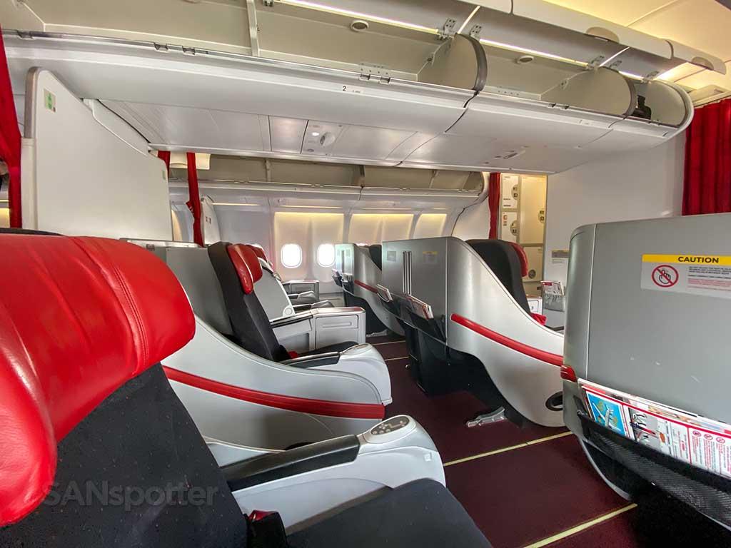 AirAsia X Premium Flatbed cabin