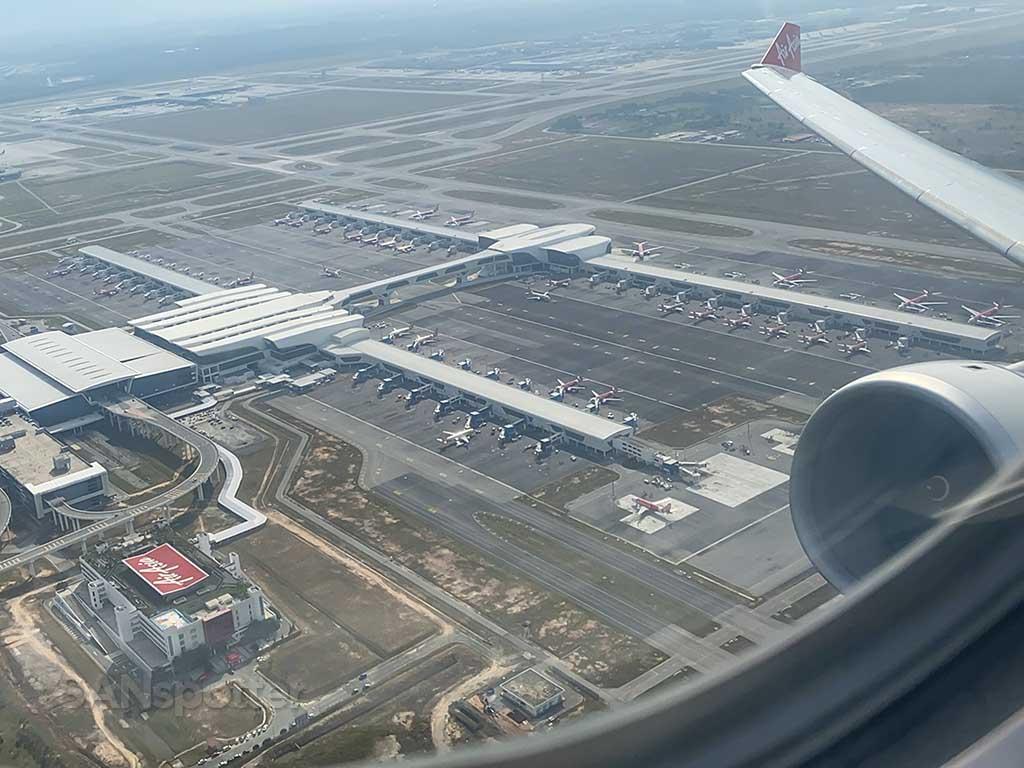 departing KUL airport