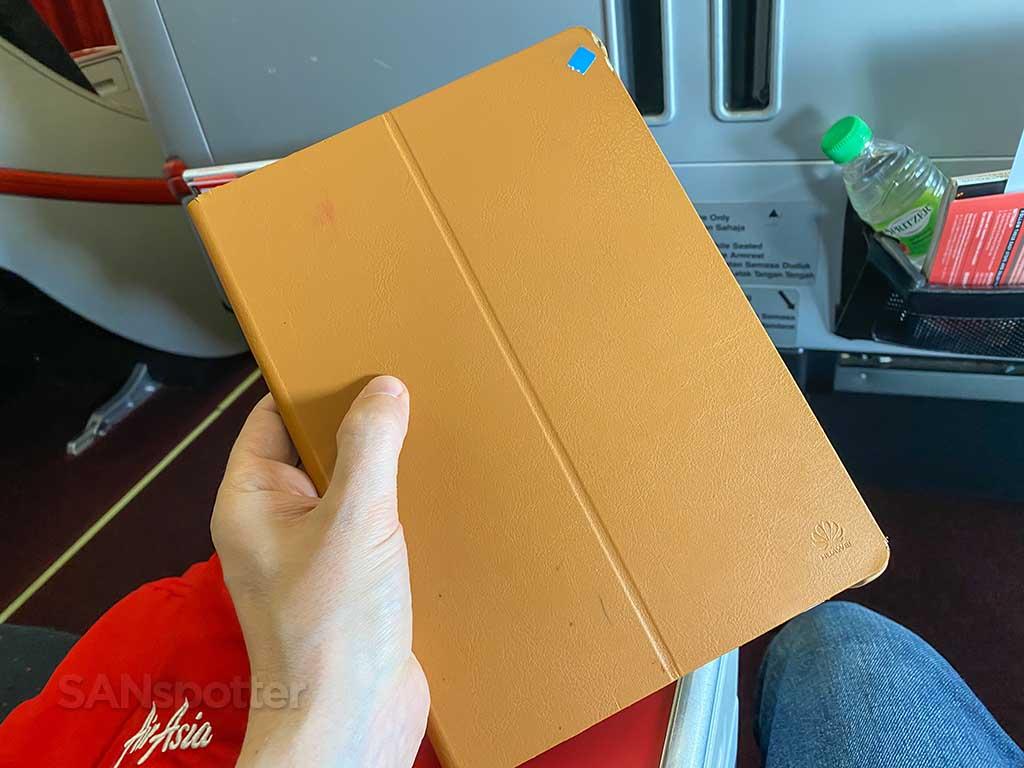 AirAsia X Premium Flatbed entertainment