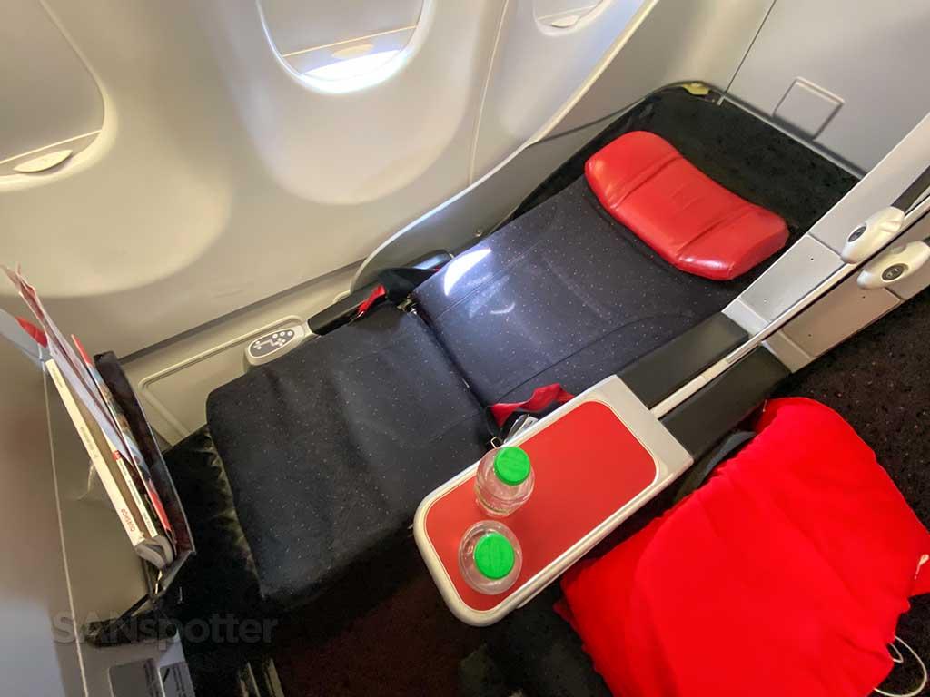 AirAsia X Premium Flatbed recline