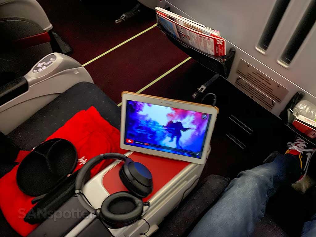 AirAsia X Premium Flatbed comfort