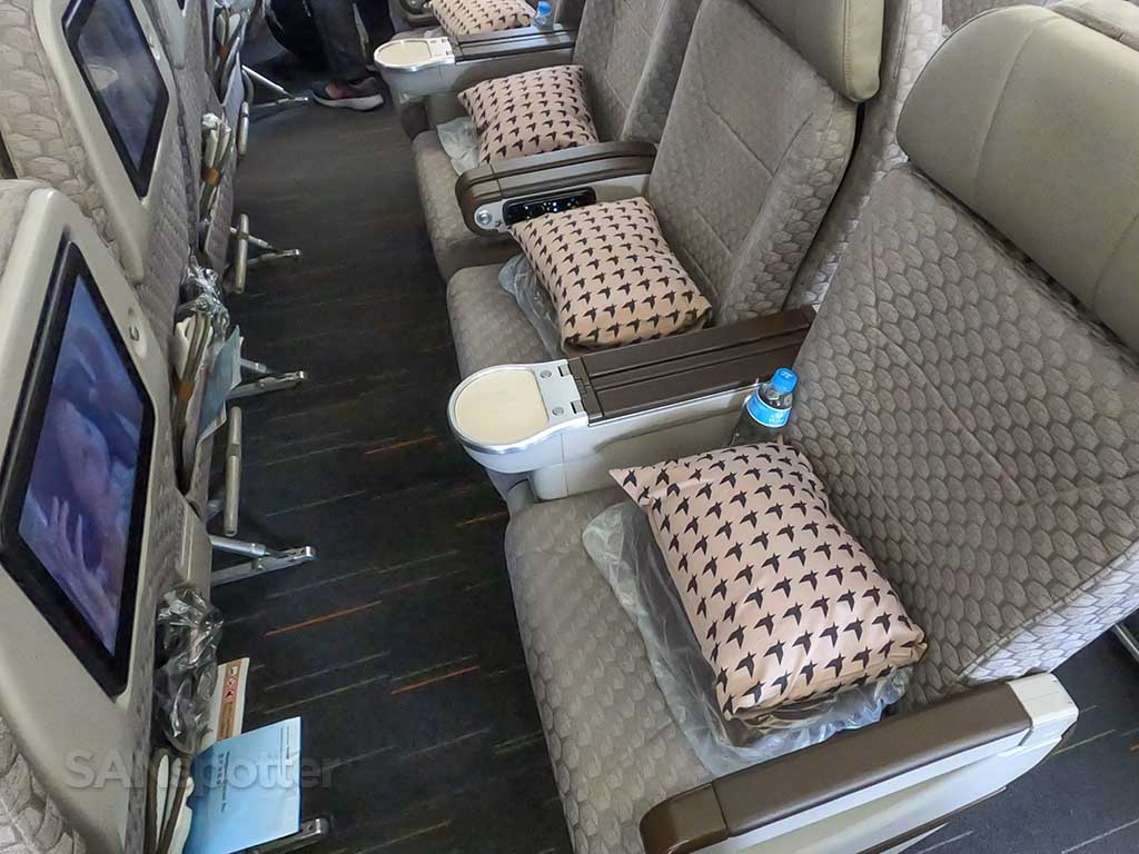 EVA Air 777-300 Premium Economy seats