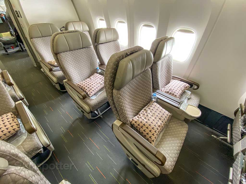 EVA Air Premium Economy seats