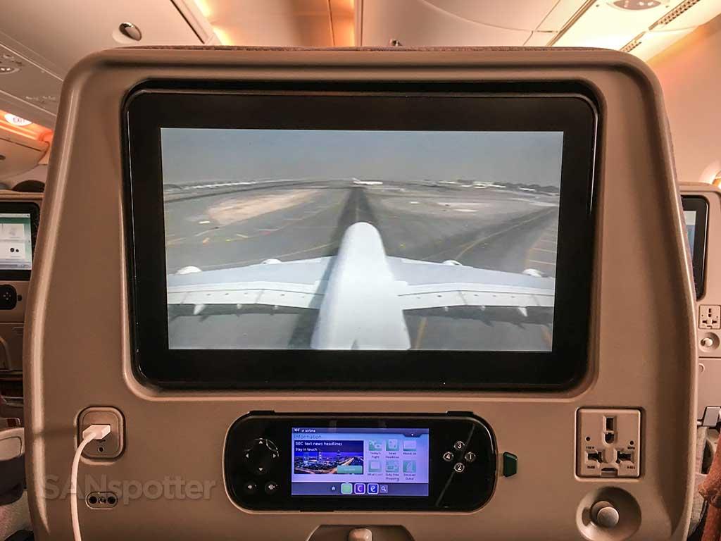 A380 tail camera