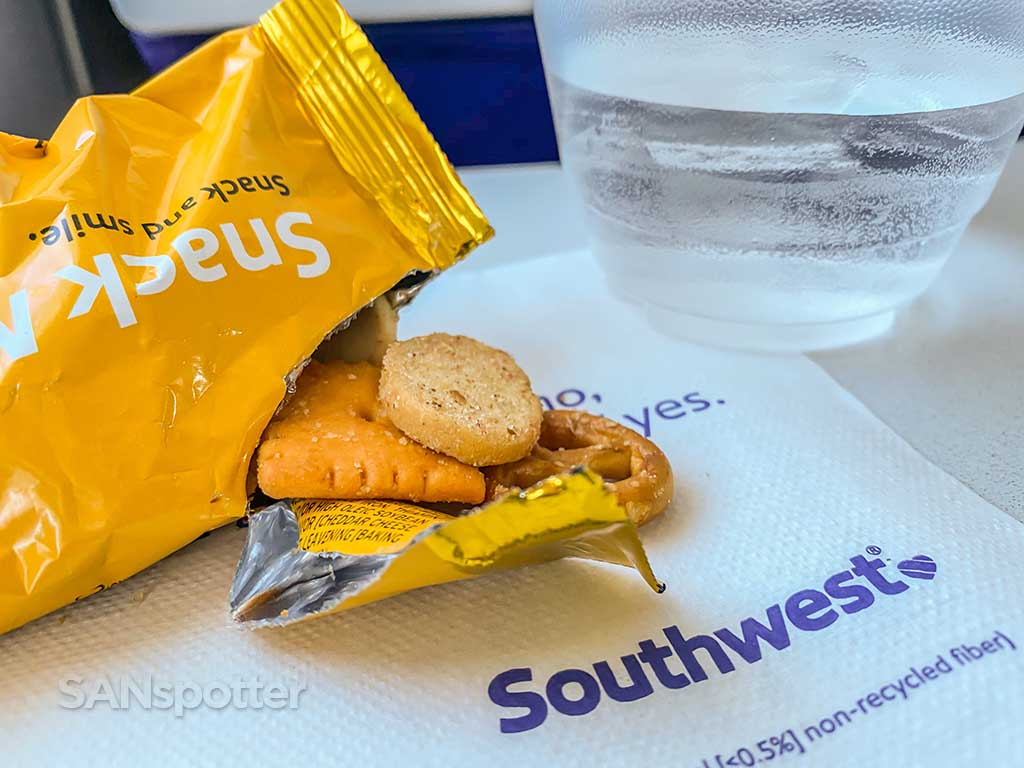 southwest airlines snack