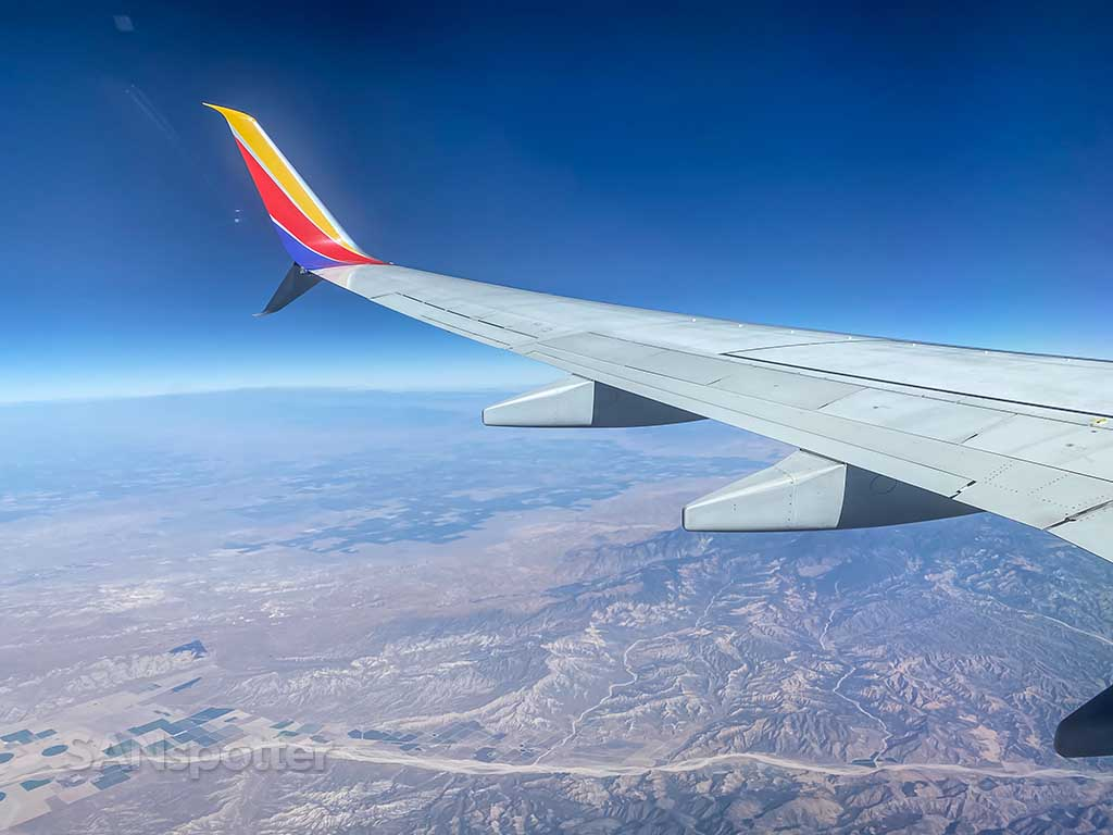 Southwest Airlines in-flight entertainment