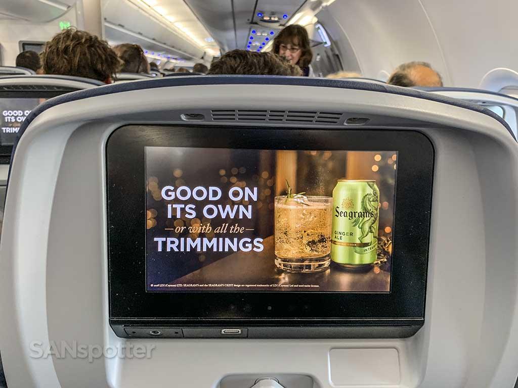 Delta Studio in-flight entertainment