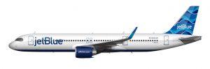 JetBlue A321LR livery