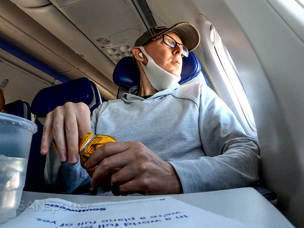 SANspotter reviewing Southwest Airlines