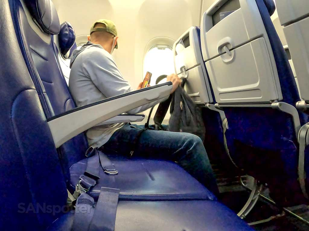 Southwest Airlines seating