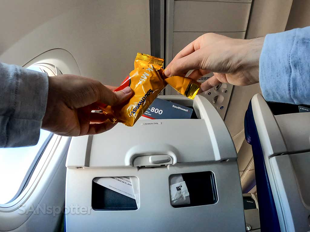 Southwest Airlines Business Select food