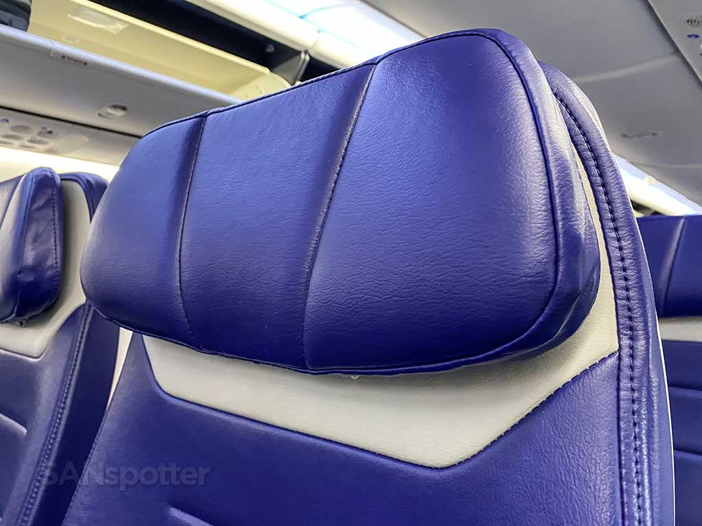 Southwest Airlines new seats