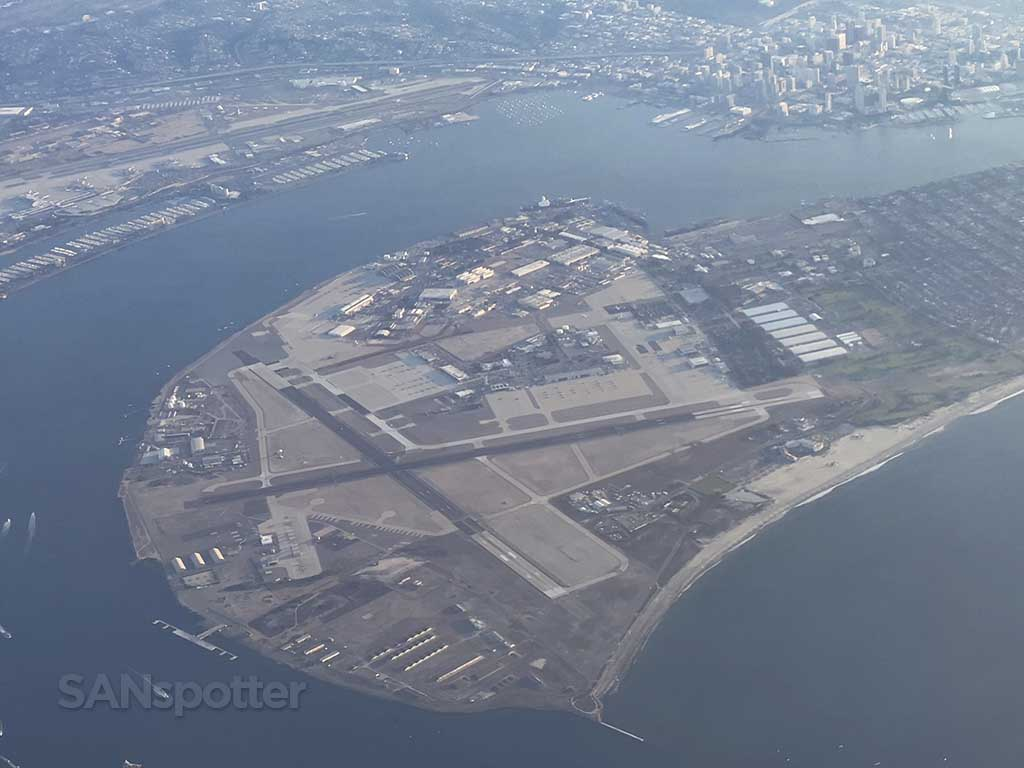 view of North Island Naval Air Station
