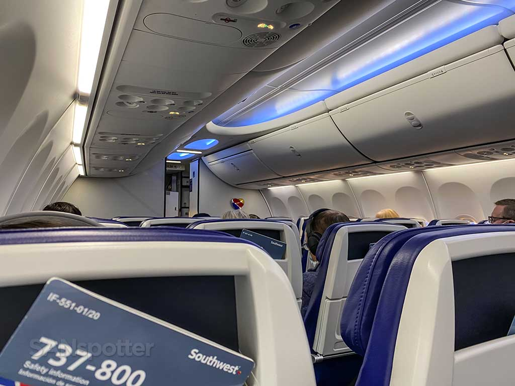 Boeing Sky Interior Southwest Airlines 737-800