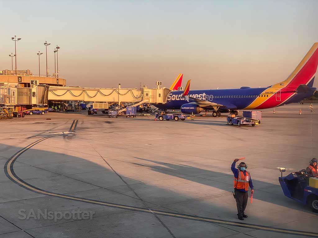 Southwest Airlines san Diego airport