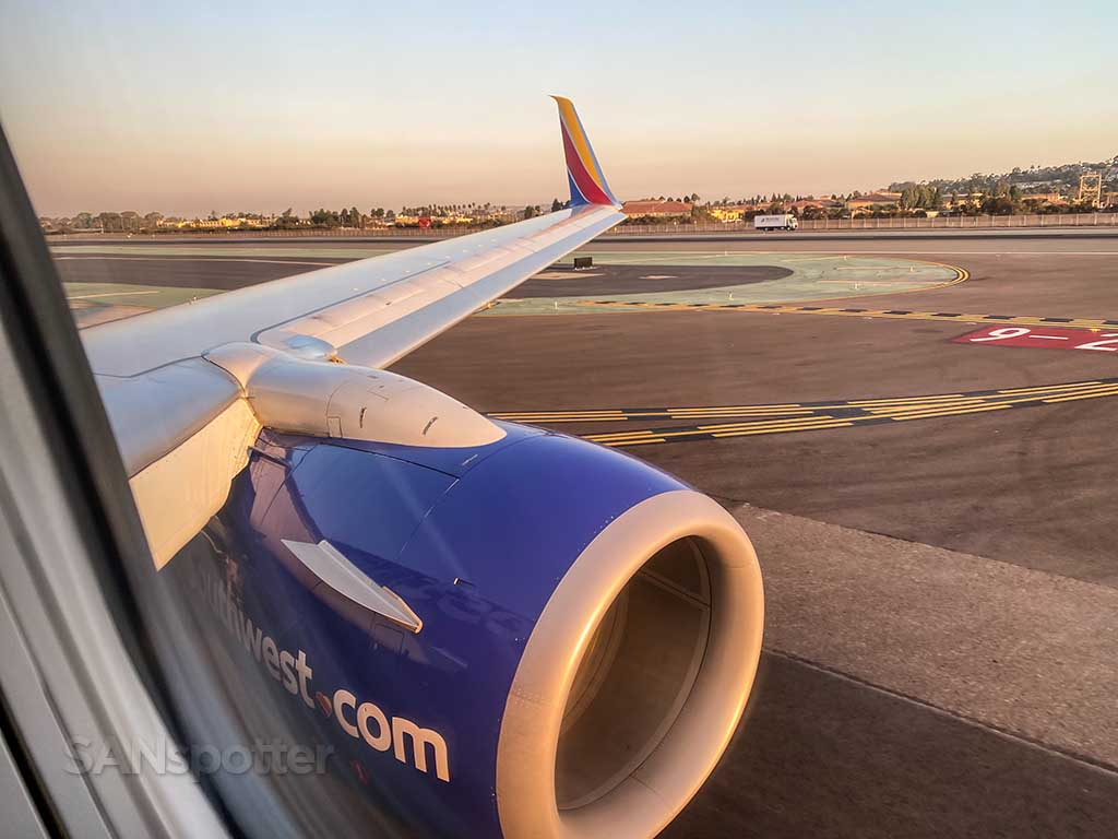 Southwest Airlines flight from SAN