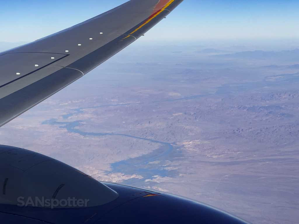 Colorado River from the air