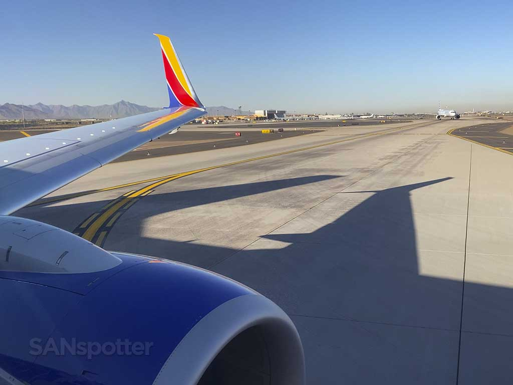 Arrival at PHX airport