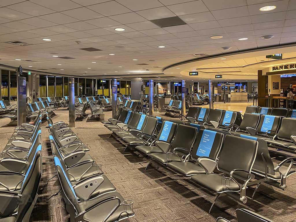 San Diego Airport during coronavirus