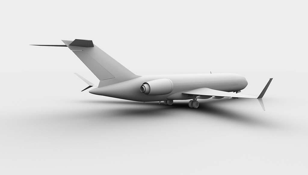 Boeing 727-300 concept