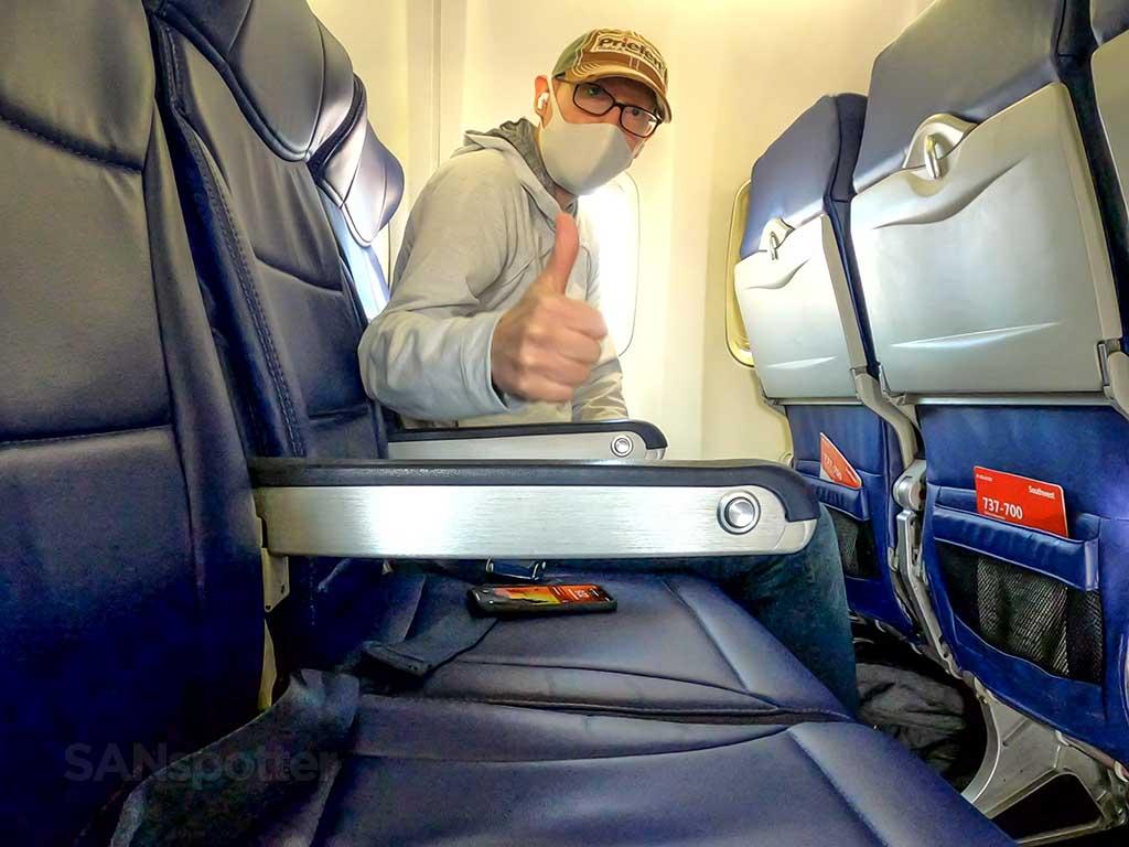 SANspotter selfie 737-700