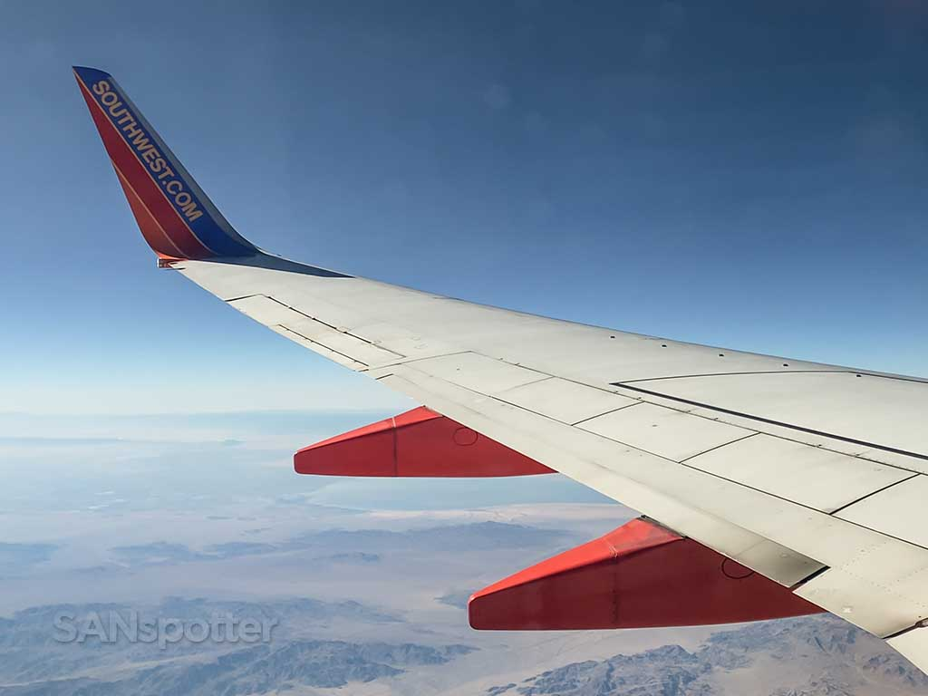 Southwest Airlines PHX-SFO review