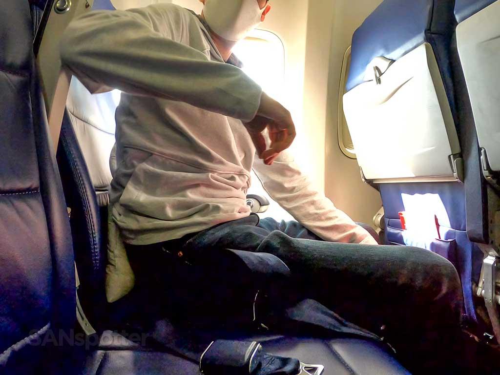 sanspotter southwest 737-700 interior