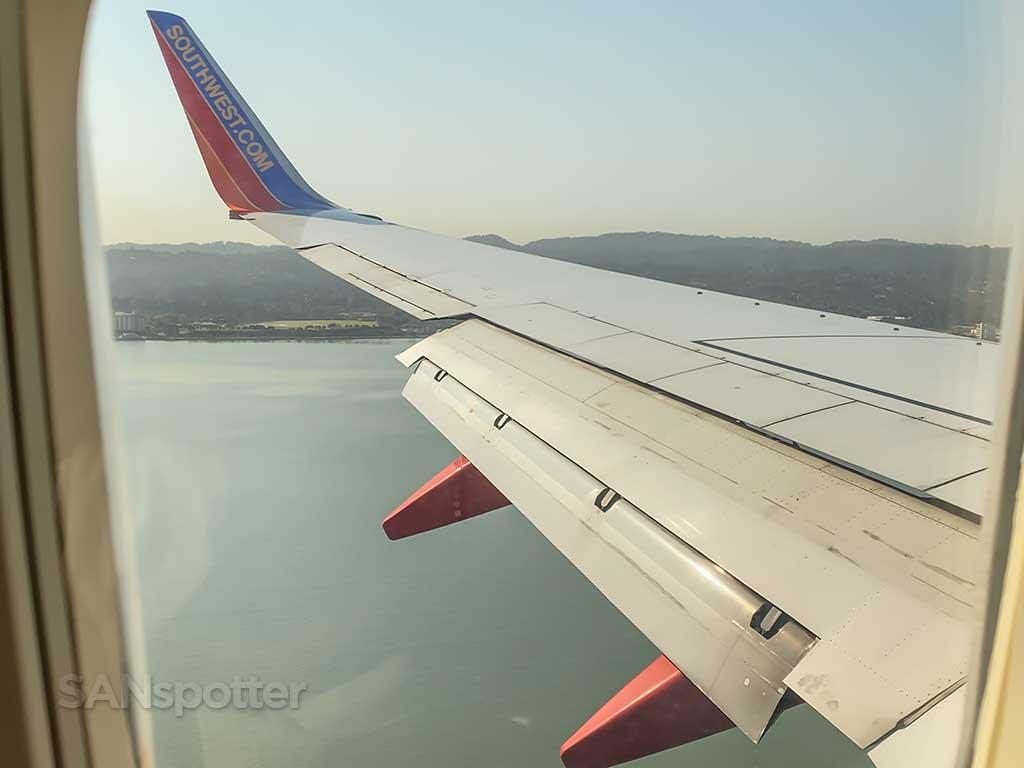 SFO approach view