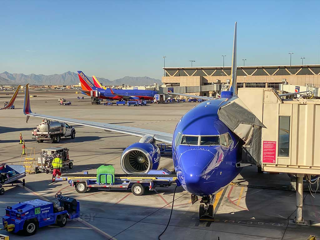 Southwest Airlines 737 PHX