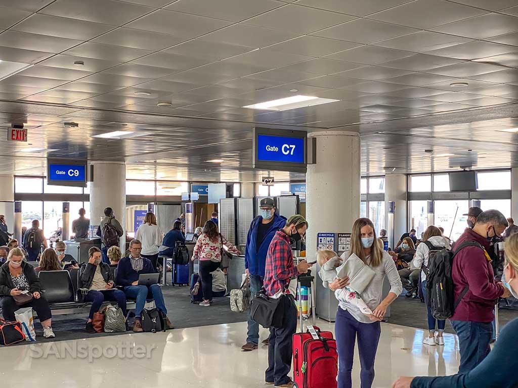 Gate C7 PHX airport