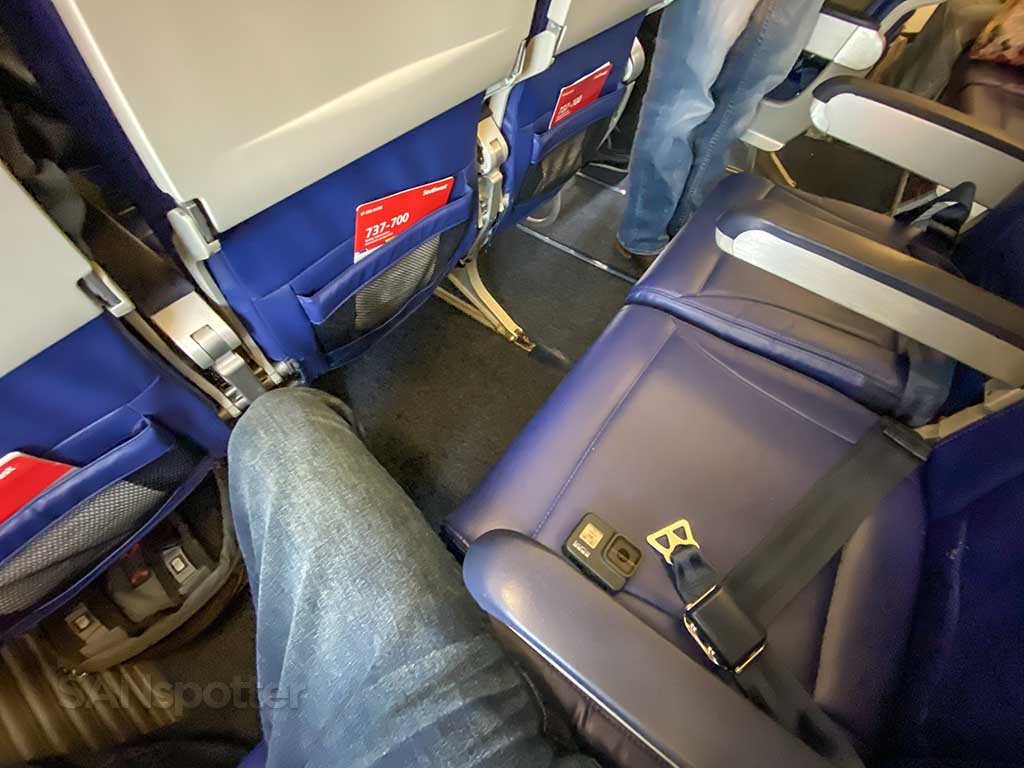 Southwest Airlines 737-700 seats