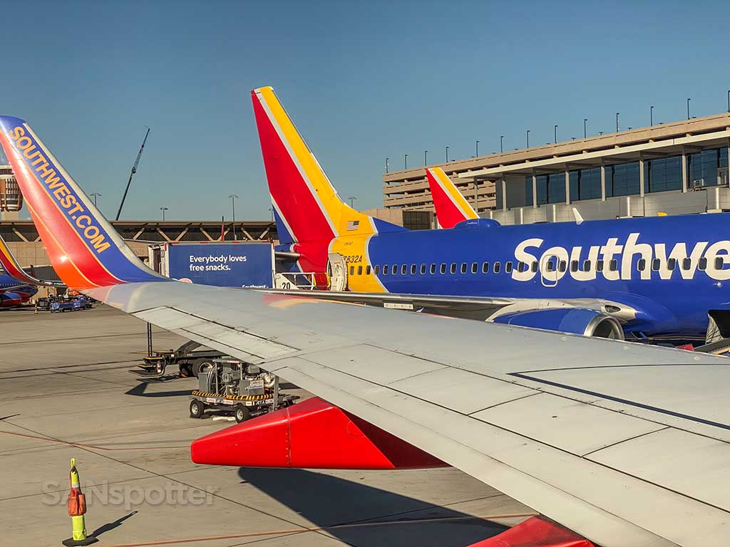 Southwest Airlines Review PHX-SFO