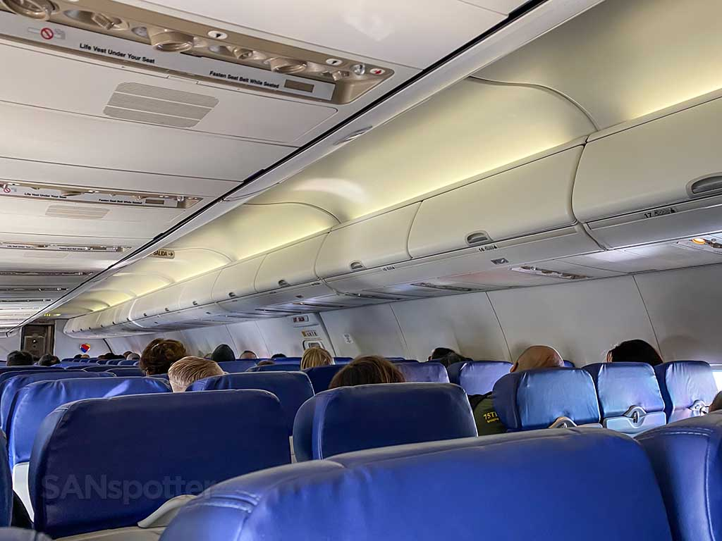Southwest Airlines interior